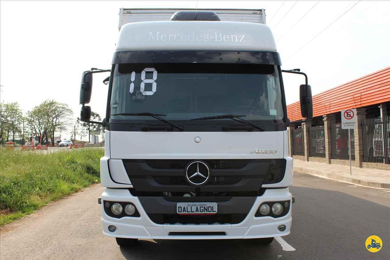 CAMINHAO MERCEDES-BENZ MB 1726 Baú Furgão Truck 6x2 DallAgnol Caminhões RS PASSO FUNDO RIO GRANDE DO SUL RS