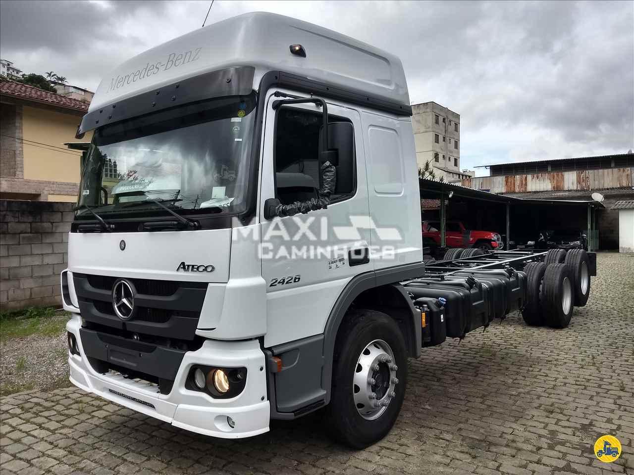 CAMINHAO MERCEDES-BENZ MB 2426 Chassis Truck 6x2 Maxi Caminhões TERESOPOLIS RIO DE JANEIRO RJ