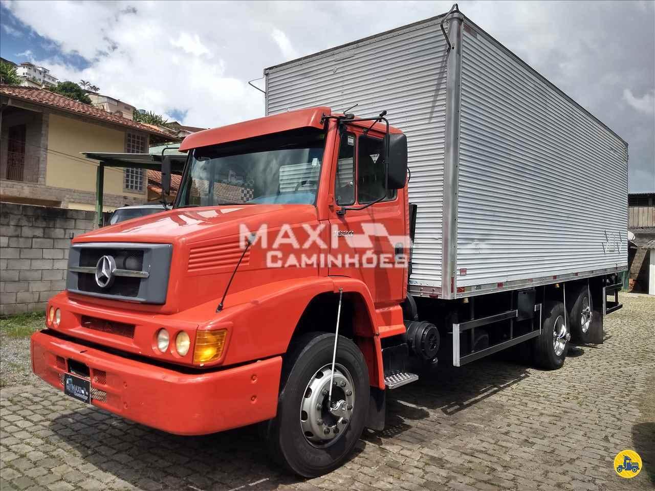 CAMINHAO MERCEDES-BENZ MB 1620 Baú Furgão Truck 6x2 Maxi Caminhões TERESOPOLIS RIO DE JANEIRO RJ