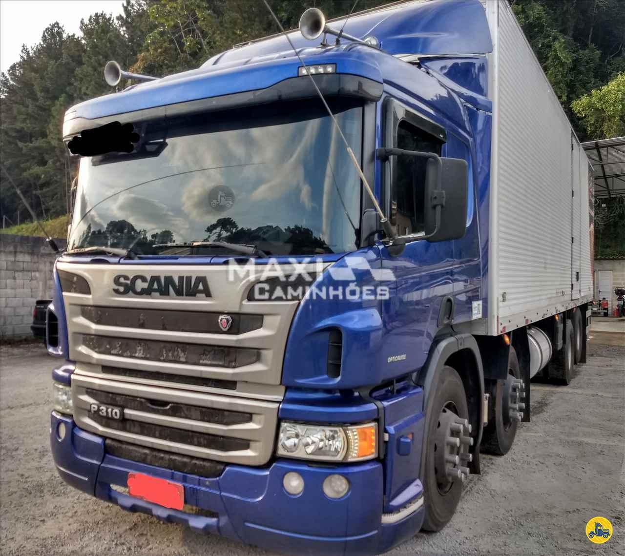 CAMINHAO SCANIA SCANIA P310 Baú Furgão BiTruck 8x2 Maxi Caminhões TERESOPOLIS RIO DE JANEIRO RJ
