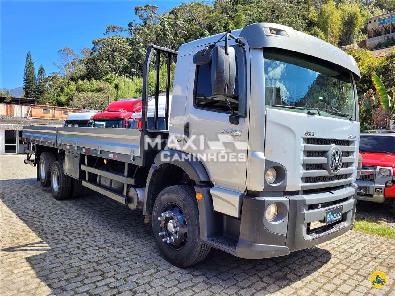 CAMINHAO VOLKSWAGEN VW 24280 Carga Seca Truck 6x2 Maxi Caminhões TERESOPOLIS RIO DE JANEIRO RJ
