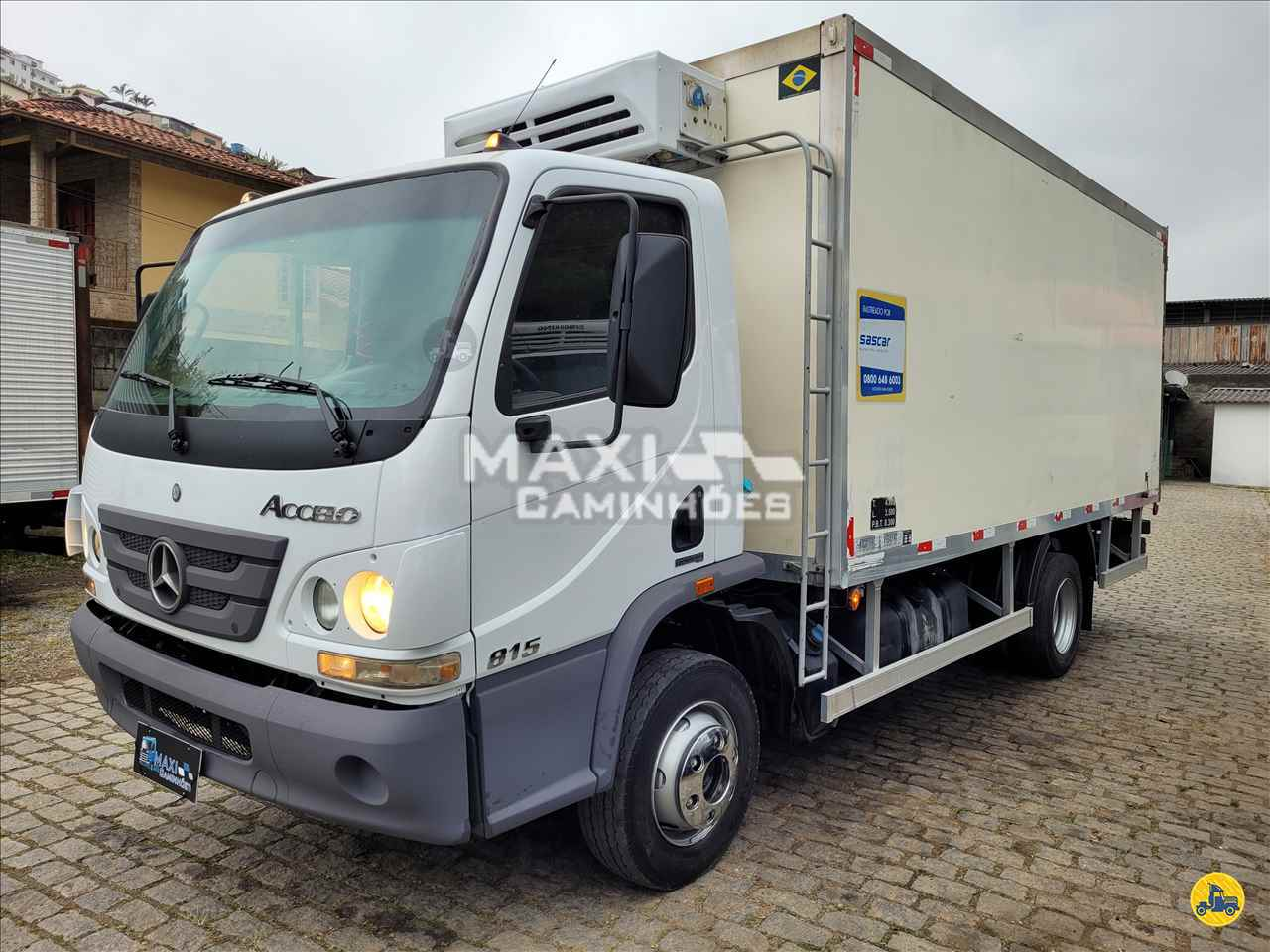 CAMINHAO MERCEDES-BENZ MB 815 Baú Frigorífico 3/4 4x2 Maxi Caminhões TERESOPOLIS RIO DE JANEIRO RJ