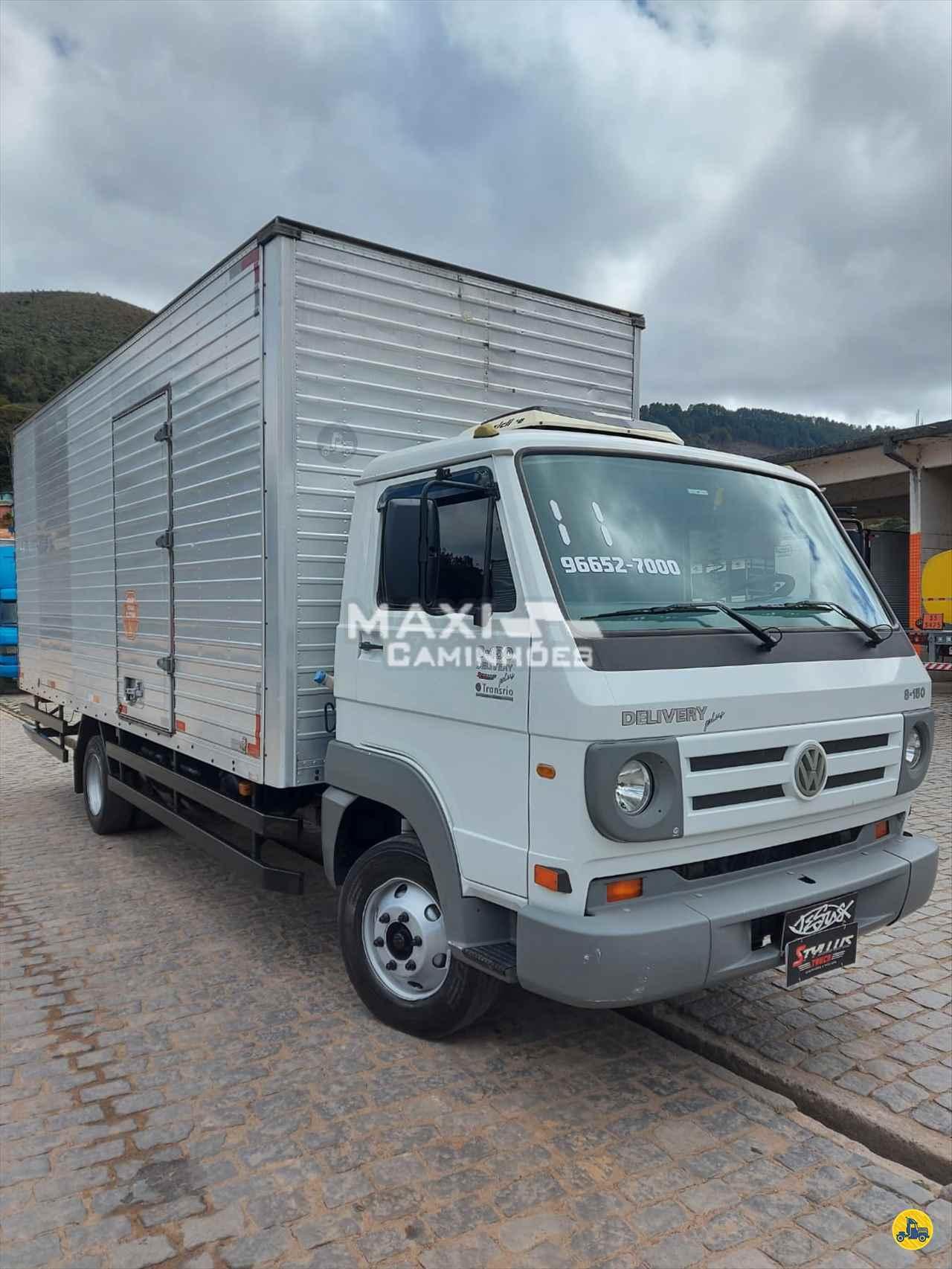 CAMINHAO VOLKSWAGEN VW 8150 Baú Furgão 3/4 4x2 Maxi Caminhões TERESOPOLIS RIO DE JANEIRO RJ
