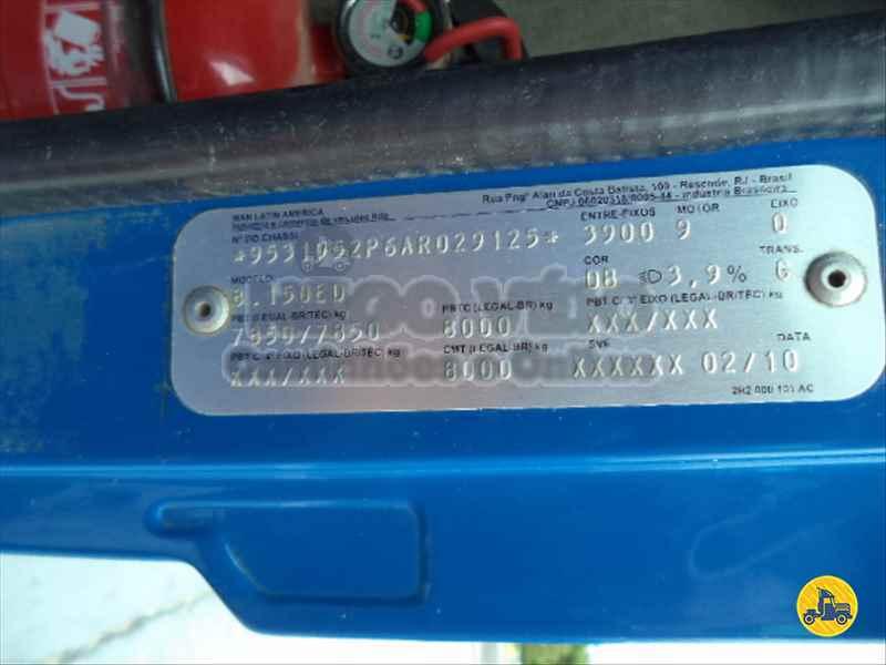 VOLKSWAGEN VW 8150 325000km 2010/2010 Nego Véio Caminhões e Ônibus
