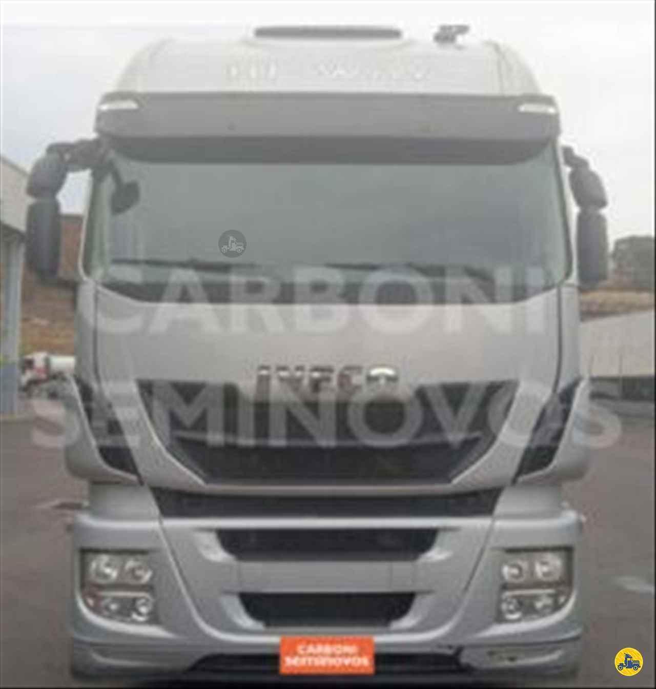CAMINHAO IVECO STRALIS 560 Cavalo Mecânico Truck 6x2 Carboni Iveco VIDEIRA SANTA CATARINA SC
