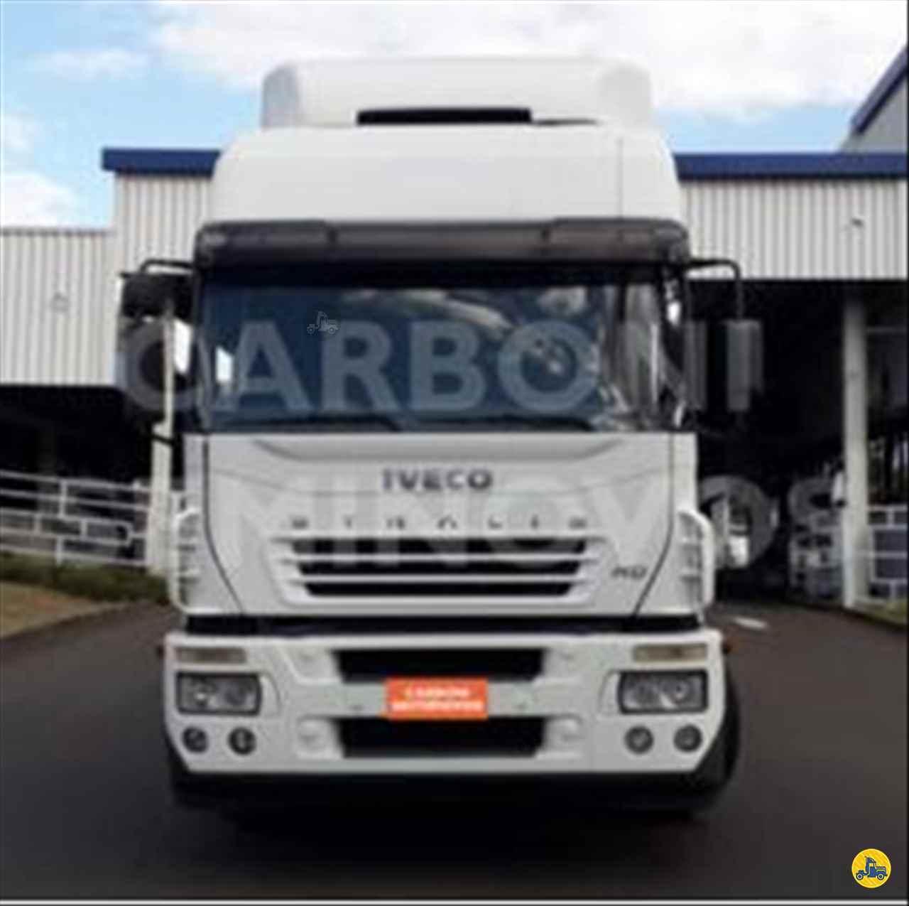 CAMINHAO IVECO STRALIS 380 Cavalo Mecânico Truck 6x2 Carboni Iveco VIDEIRA SANTA CATARINA SC
