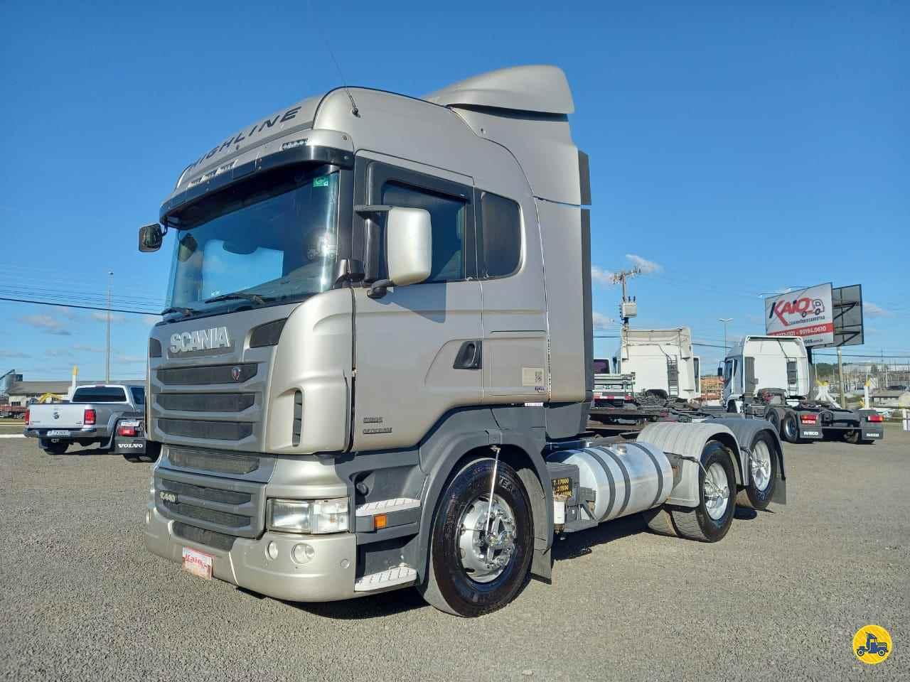CAMINHAO SCANIA SCANIA 440 Cavalo Mecânico Truck 6x2 Kaio Caminhões LAGES SANTA CATARINA SC