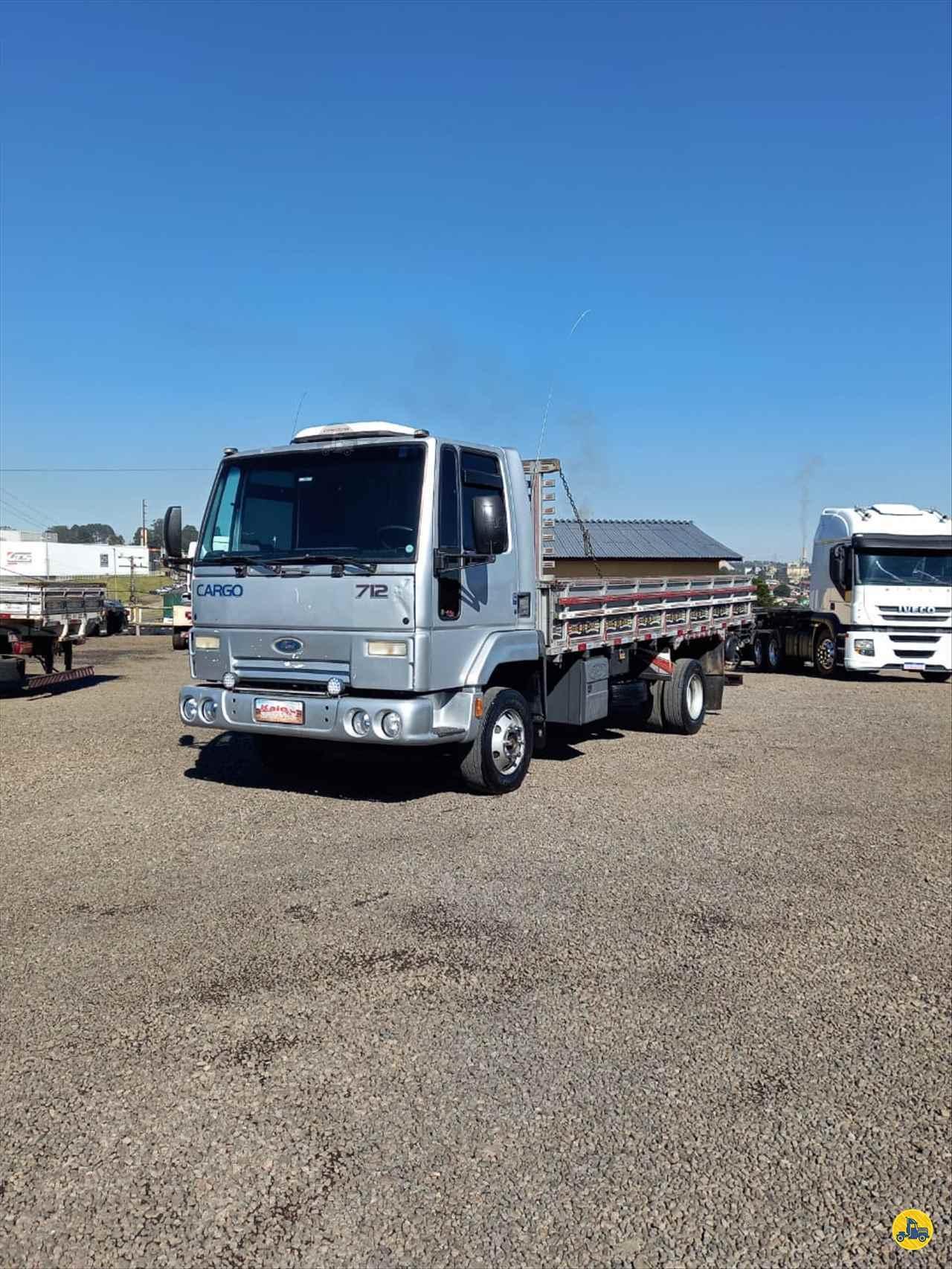 CAMINHAO FORD CARGO 712 Chassis Toco 4x2 Kaio Caminhões LAGES SANTA CATARINA SC
