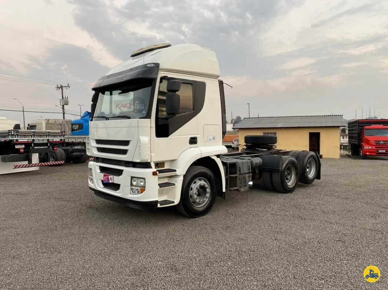CAMINHAO IVECO STRALIS 570 Chassis Truck 6x2 Kaio Caminhões LAGES SANTA CATARINA SC
