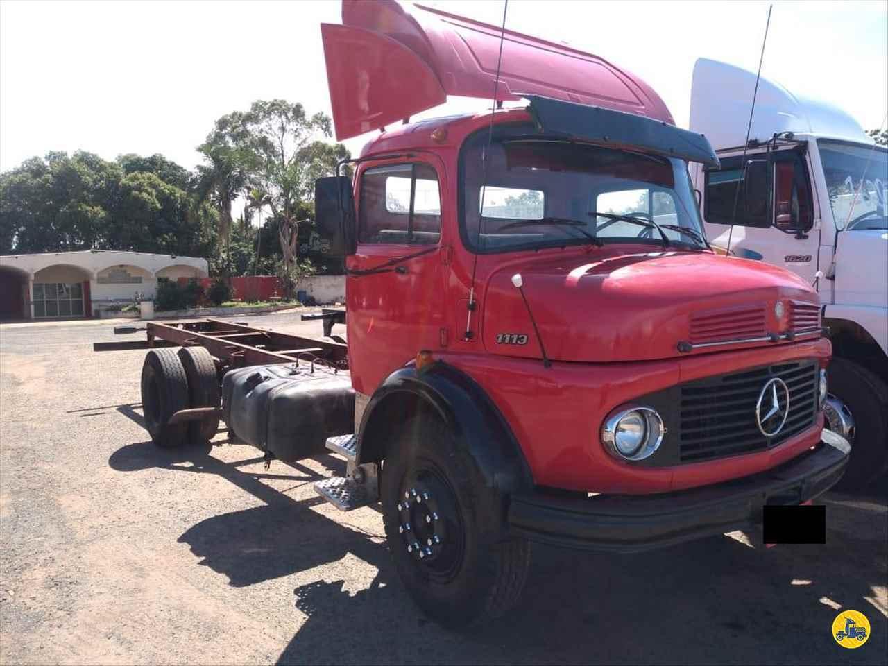 CAMINHAO MERCEDES-BENZ MB 1113 Baú Furgão Toco 4x2 Barbosa Caminhões LINS SÃO PAULO SP