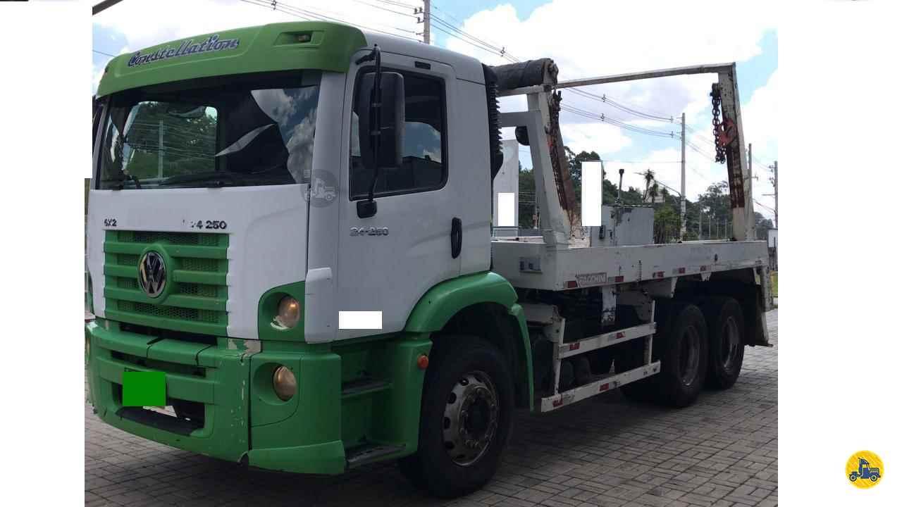 CAMINHAO VOLKSWAGEN VW 24250 Poliguindaste Truck 6x2 Barbosa Caminhões LINS SÃO PAULO SP