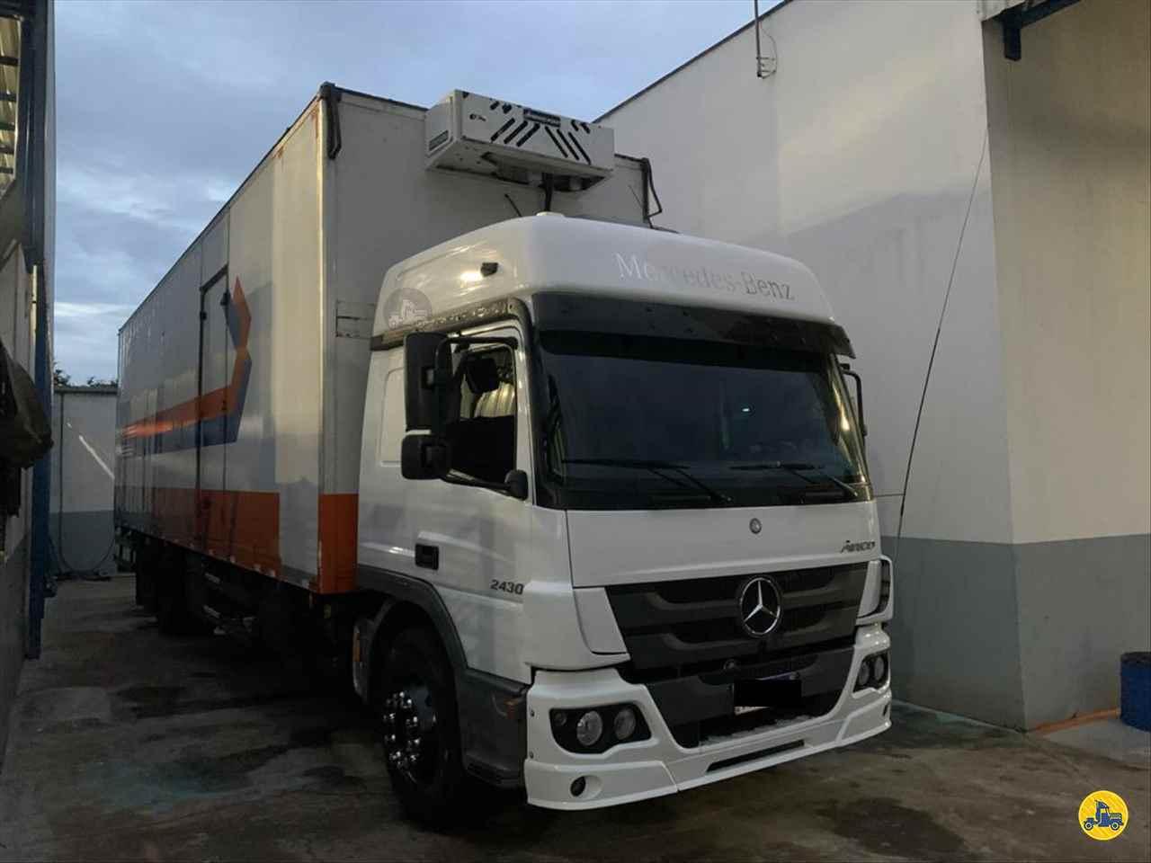 CAMINHAO MERCEDES-BENZ MB 2430 Baú Térmico Truck 6x2 Barbosa Caminhões LINS SÃO PAULO SP