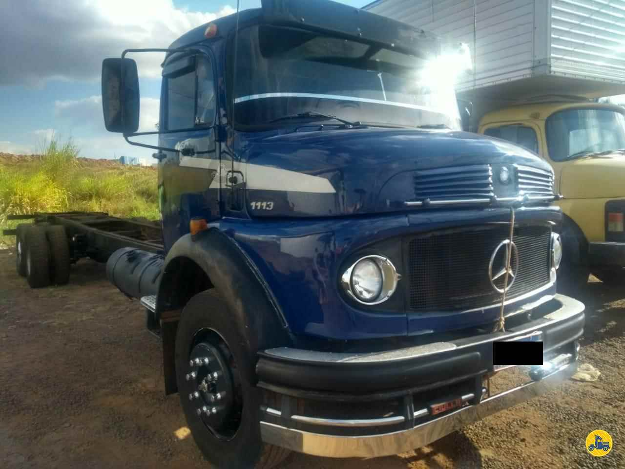 CAMINHAO MERCEDES-BENZ MB 1113 Chassis Truck 6x2 Barbosa Caminhões LINS SÃO PAULO SP