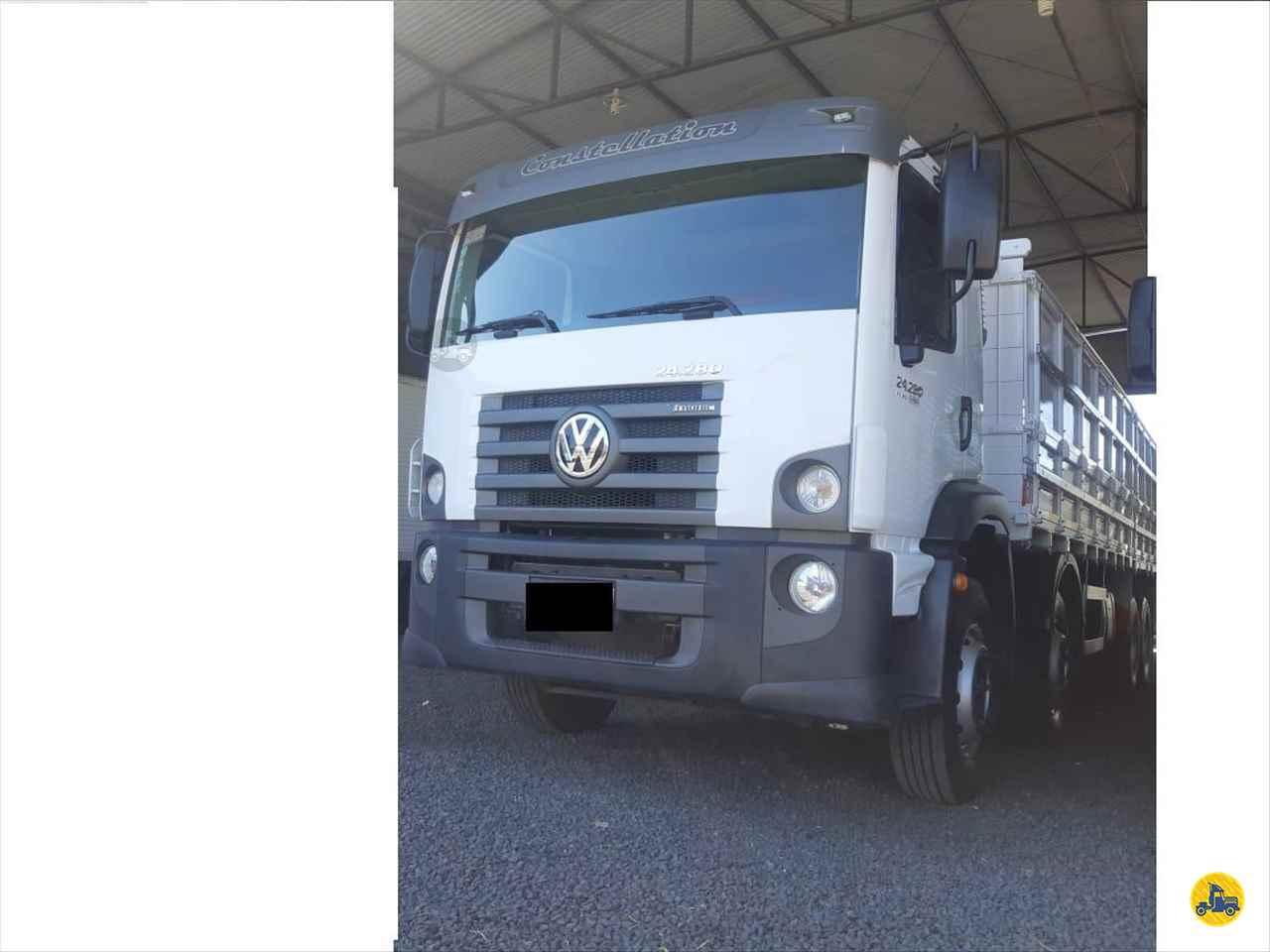 CAMINHAO VOLKSWAGEN VW 24280 Carga Seca BiTruck 8x2 Barbosa Caminhões LINS SÃO PAULO SP
