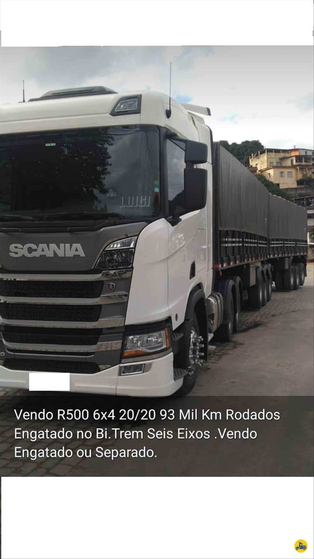 CAMINHAO SCANIA SCANIA 500 Cavalo Mecânico Traçado 6x4 Barbosa Caminhões LINS SÃO PAULO SP