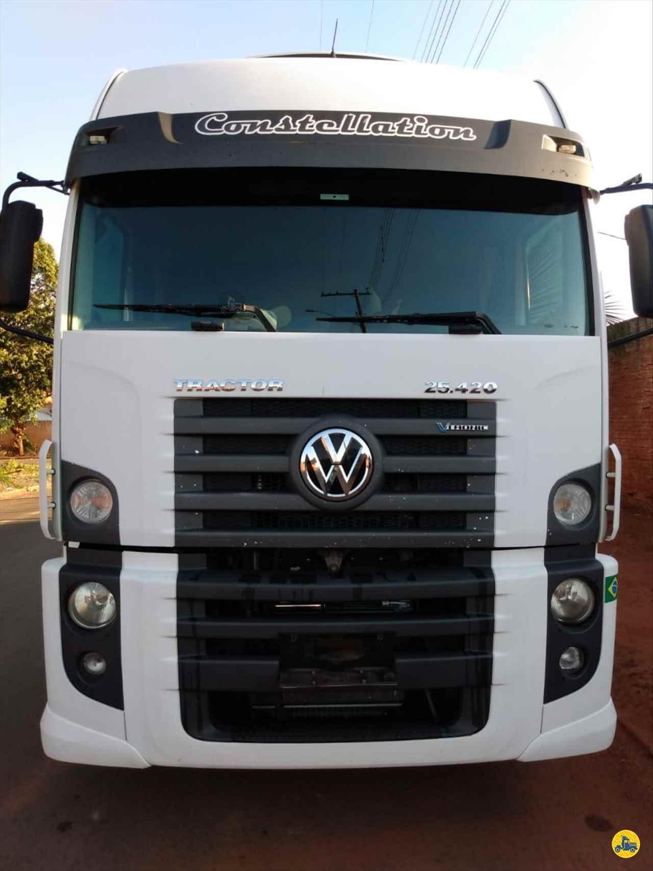 CAMINHAO VOLKSWAGEN VW 25420 Cavalo Mecânico Truck 6x2 Barbosa Caminhões LINS SÃO PAULO SP
