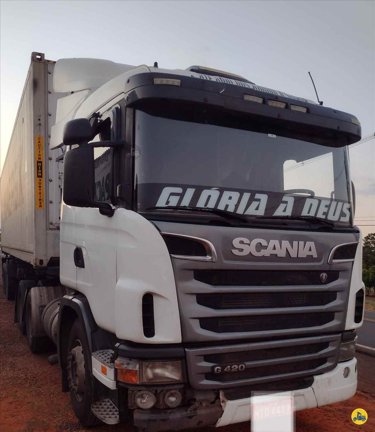 CAMINHAO SCANIA SCANIA 124 420 Cavalo Mecânico Truck 6x2 Barbosa Caminhões LINS SÃO PAULO SP