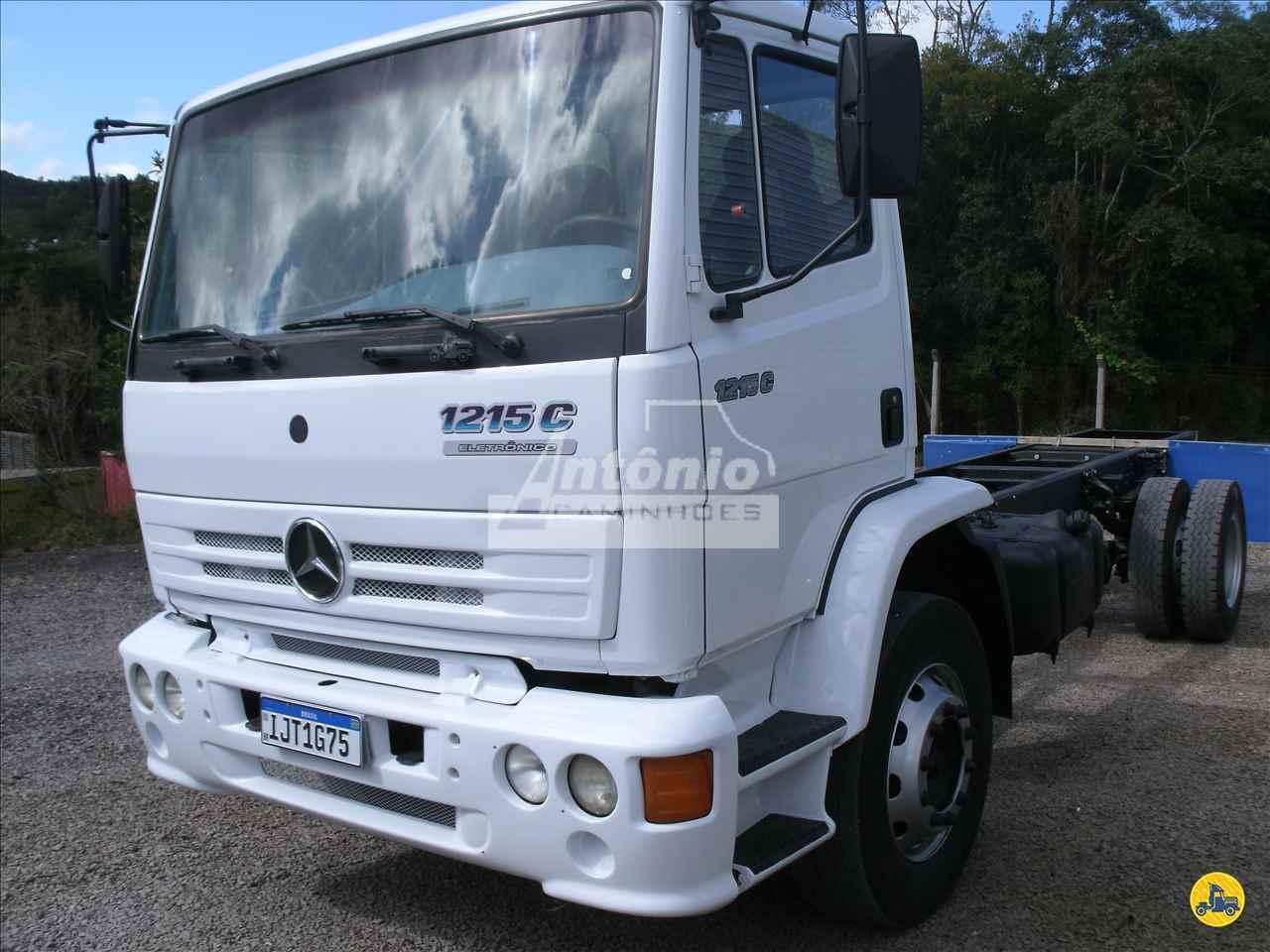CAMINHAO MERCEDES-BENZ MB 1215 Chassis Toco 4x2 Antônio Caminhões GARIBALDI RIO GRANDE DO SUL RS