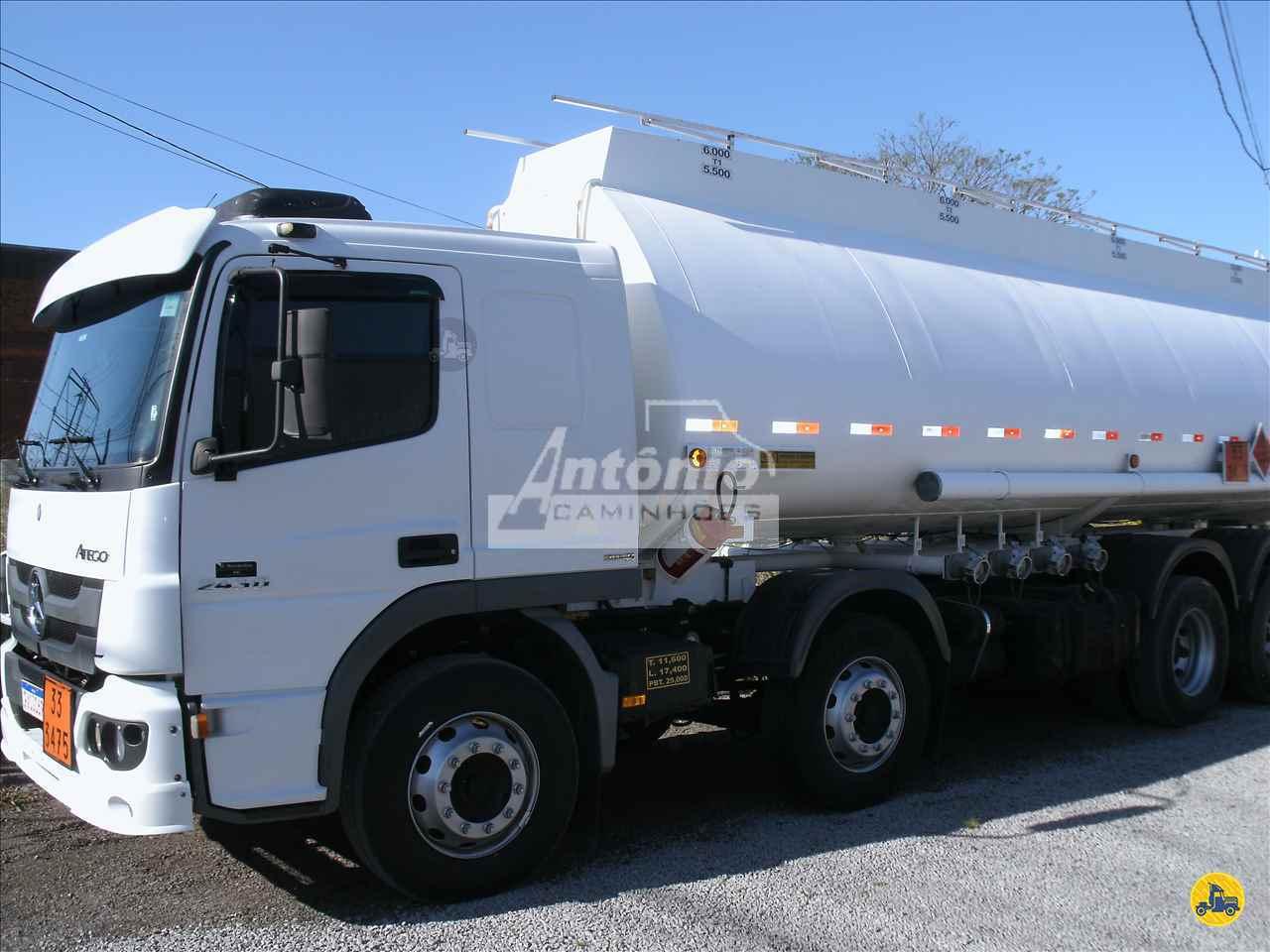 CAMINHAO MERCEDES-BENZ MB 2430 Tanque Aço BiTruck 8x2 Antônio Caminhões GARIBALDI RIO GRANDE DO SUL RS