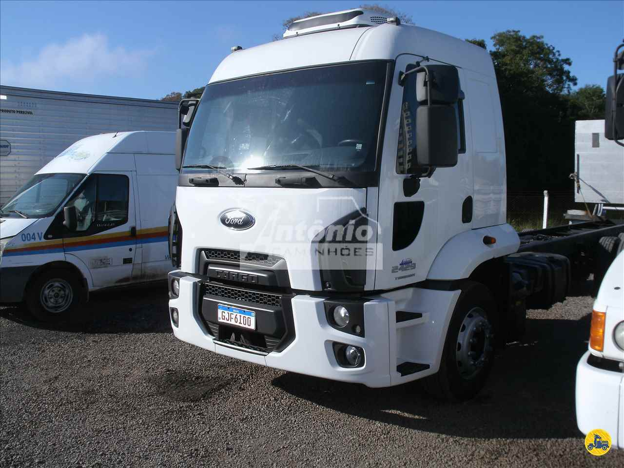 CAMINHAO FORD CARGO 2429 Chassis Truck 6x2 Antônio Caminhões GARIBALDI RIO GRANDE DO SUL RS