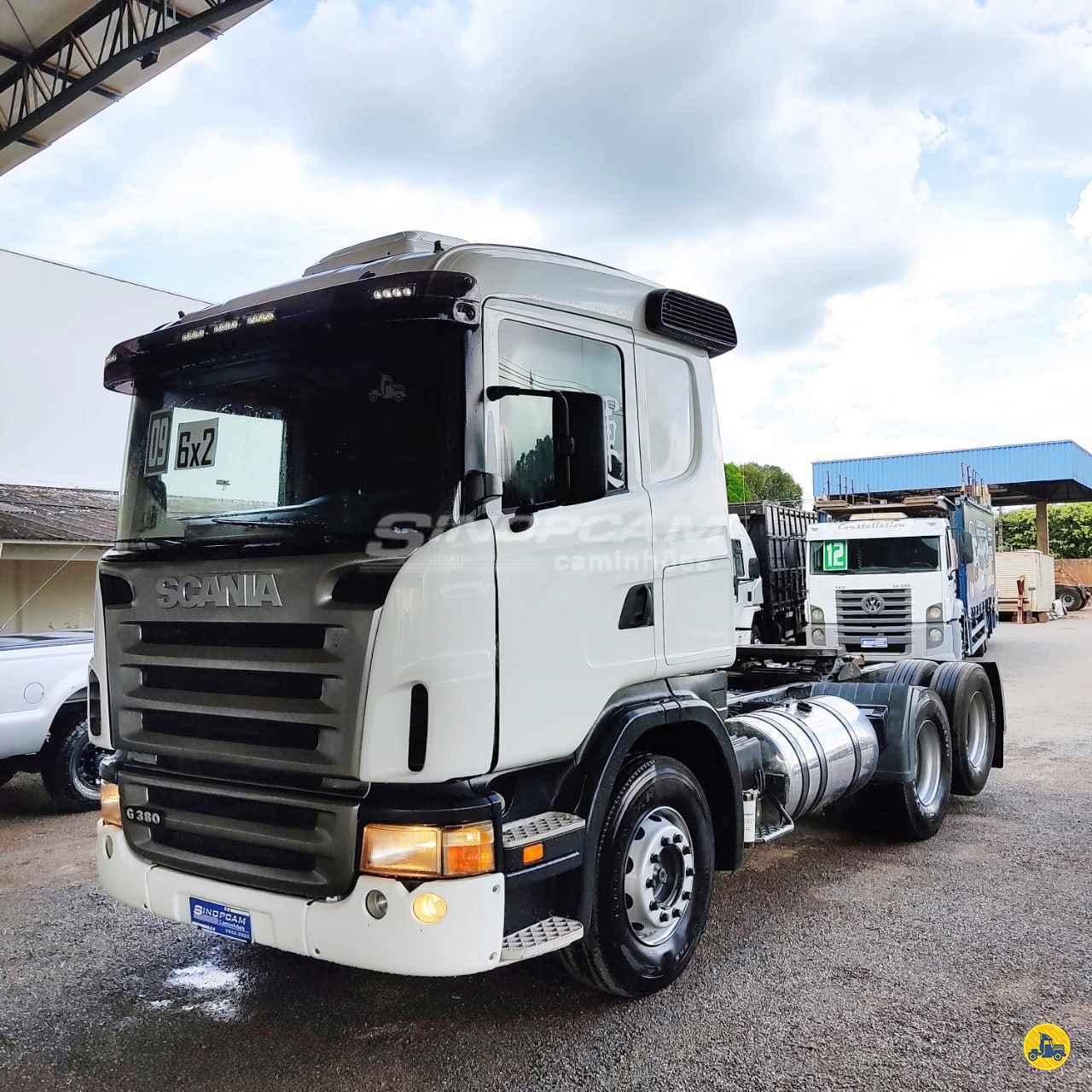 CAMINHAO SCANIA SCANIA 380 Cavalo Mecânico Truck 6x2 SinopCam Caminhões SINOP MATO GROSSO MT