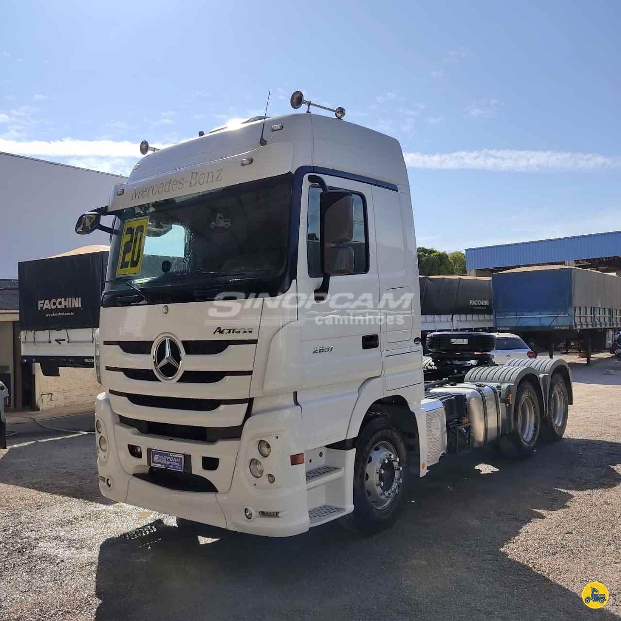 CAMINHAO MERCEDES-BENZ MB 2651 Cavalo Mecânico Traçado 6x4 SinopCam Caminhões SINOP MATO GROSSO MT