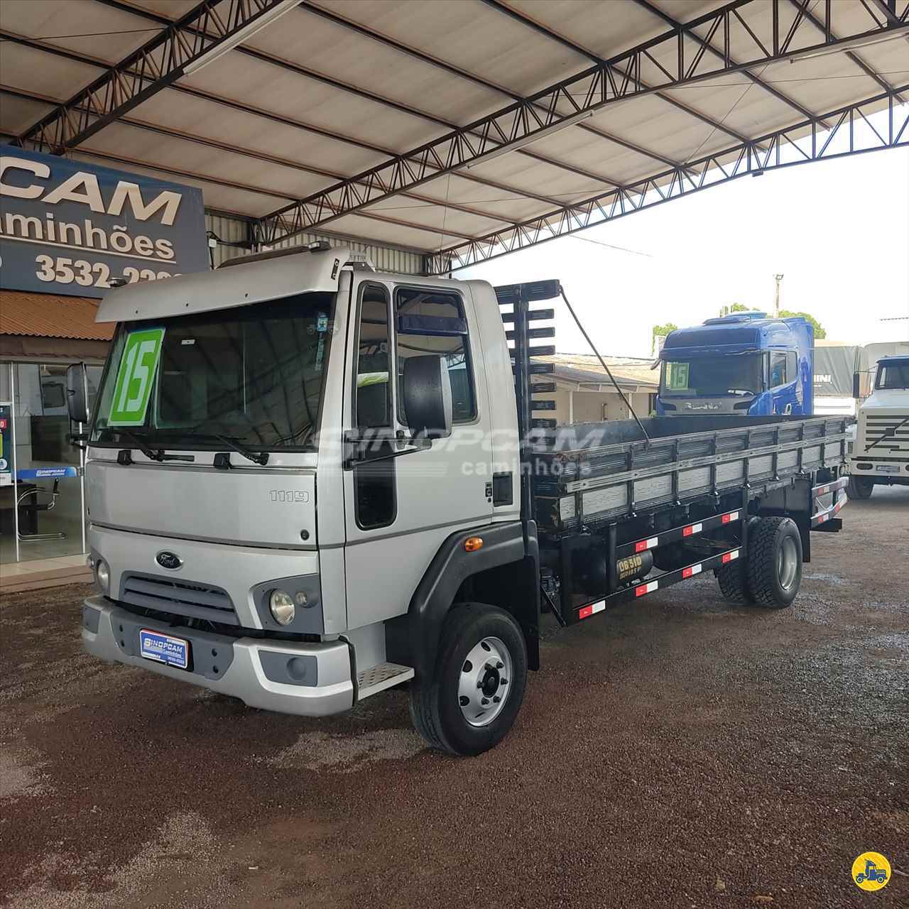 CAMINHAO FORD CARGO 1119 Carga Seca 3/4 4x2 SinopCam Caminhões SINOP MATO GROSSO MT