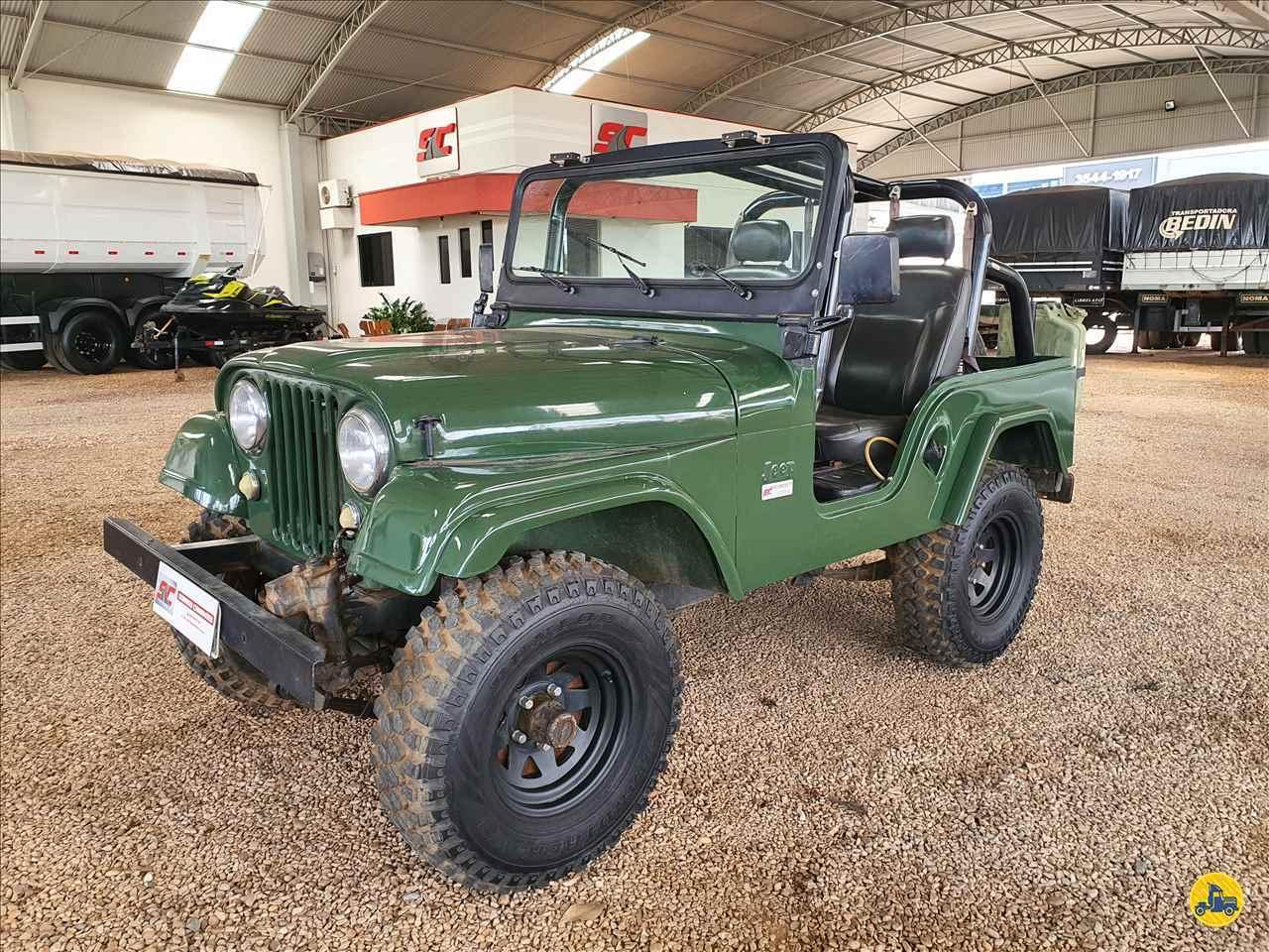 CARRO JEEP Jeep Willys Sorriso Caminhões SORRISO MATO GROSSO MT