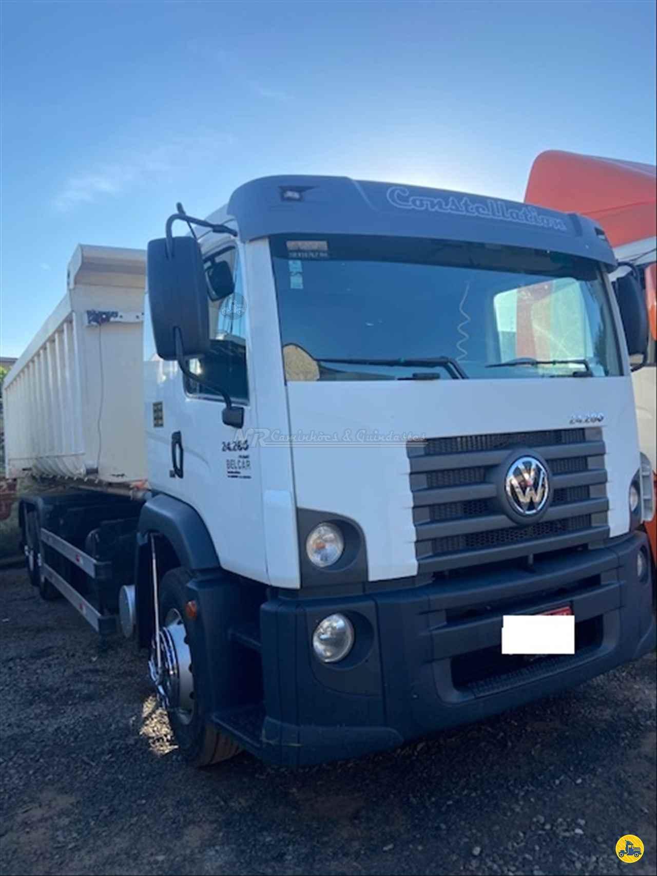 CAMINHAO VOLKSWAGEN VW 24280 Caçamba Basculante Truck 6x2 NR Caminhões e Guindastes GOIANIA GOIAS GO