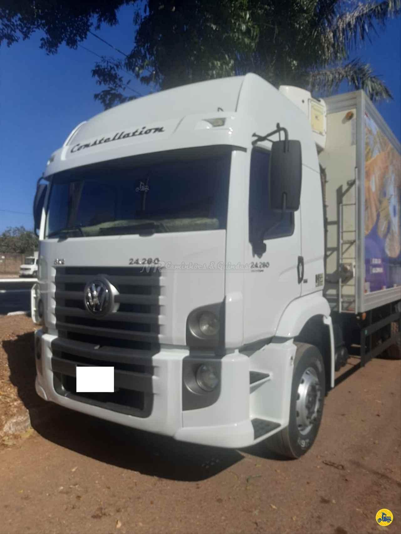CAMINHAO VOLKSWAGEN VW 24280 Baú Frigorífico Truck 6x2 NR Caminhões e Guindastes GOIANIA GOIAS GO