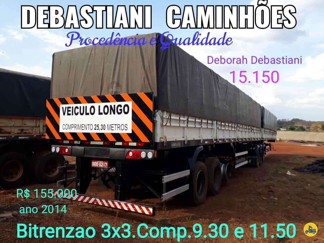 BITREM 9 EIXOS GRANELEIRO  2014/2014 Debastiani Caminhões