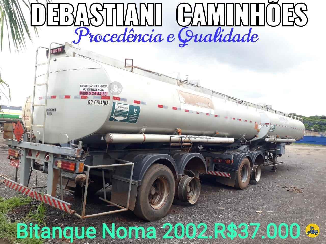 BITREM TANQUE AÇO  2002/2002 Debastiani Caminhões