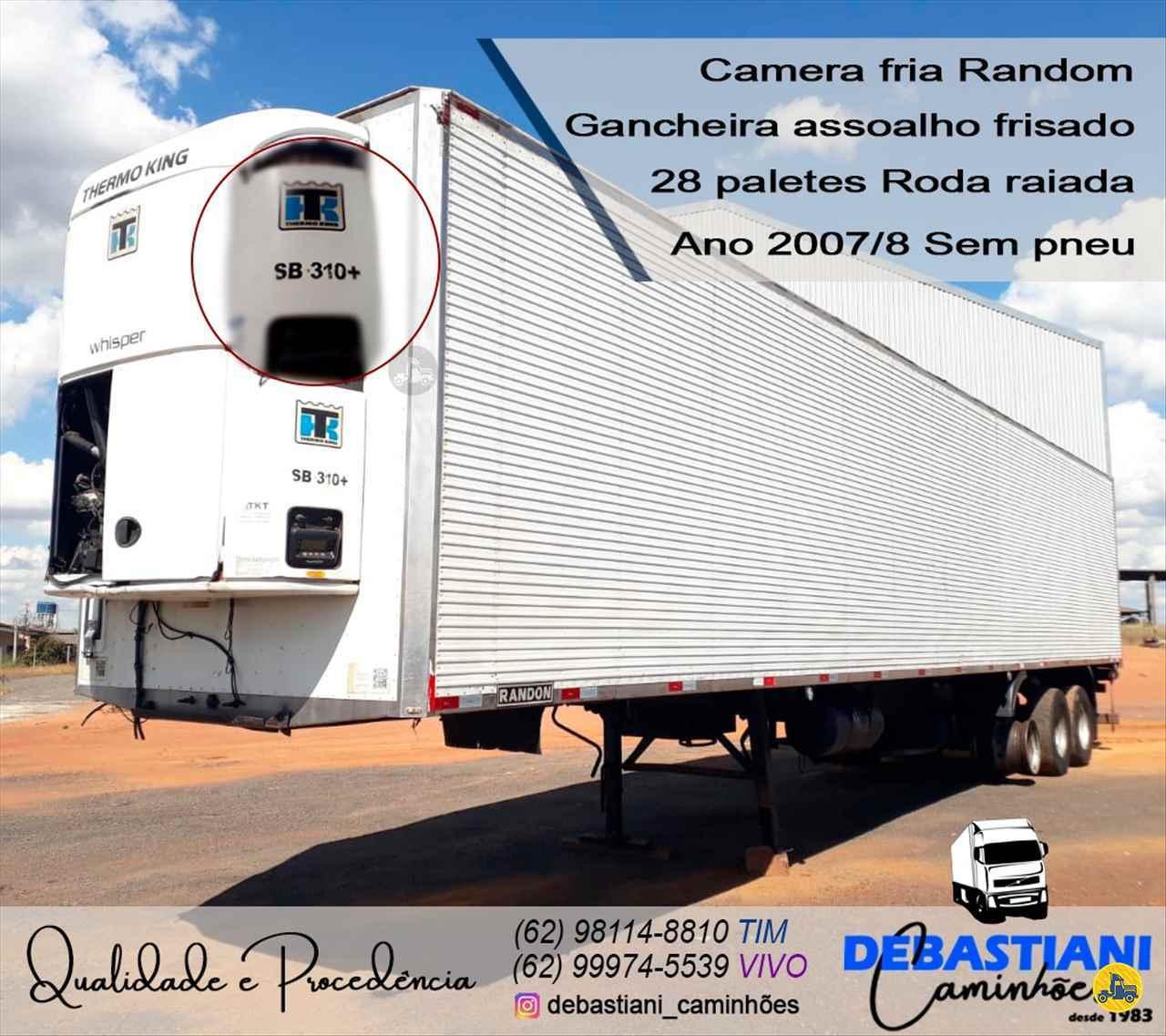 CARRETA SEMI-REBOQUE FRIGORIFICO Debastiani Caminhões ANAPOLIS GOIAS GO