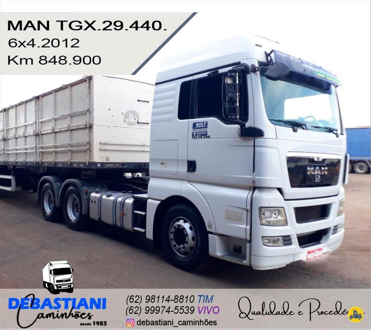 CAMINHAO MAN TGX 29 440 Cavalo Mecânico Traçado 6x4 Debastiani Caminhões ANAPOLIS GOIAS GO