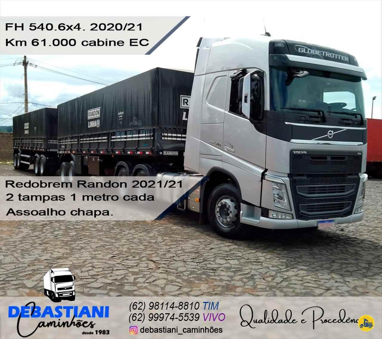 CAMINHAO VOLVO VOLVO FH 540 Cavalo Mecânico Traçado 6x4 Debastiani Caminhões ANAPOLIS GOIAS GO