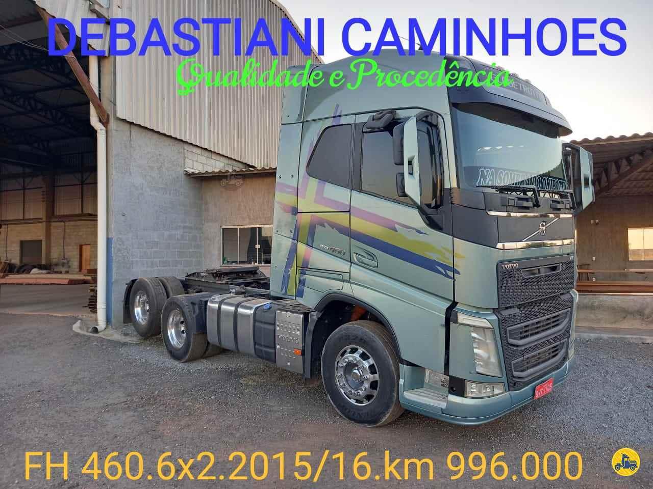 CAMINHAO VOLVO VOLVO FH 460 Cavalo Mecânico Truck 6x2 Debastiani Caminhões ANAPOLIS GOIAS GO