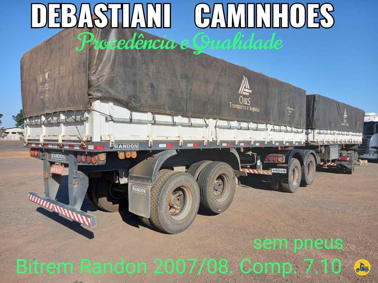 CARRETA BITREM GRANELEIRO Debastiani Caminhões ANAPOLIS GOIAS GO