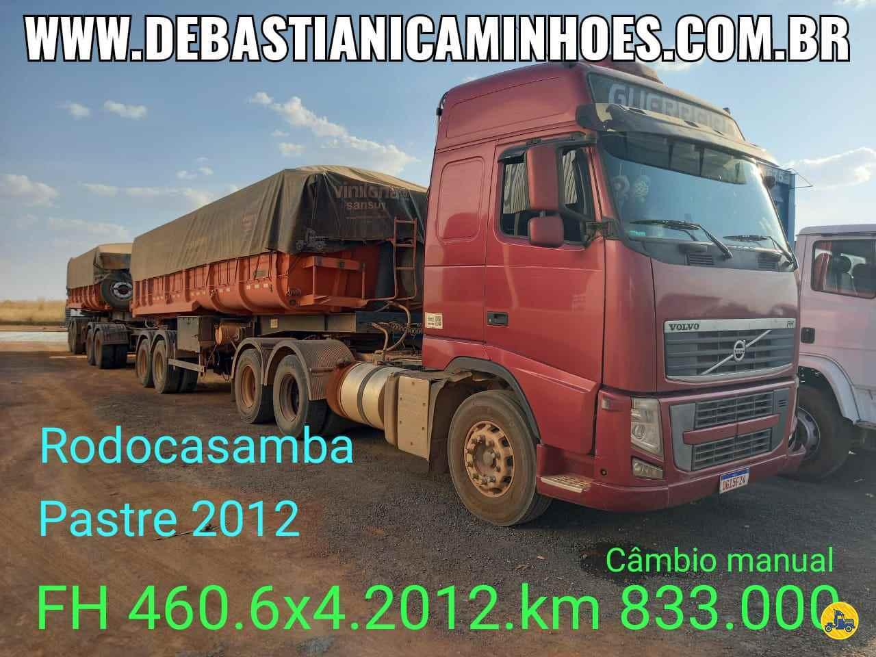 CAMINHAO VOLVO VOLVO FH 460 Cavalo Mecânico Traçado 6x4 Debastiani Caminhões ANAPOLIS GOIAS GO