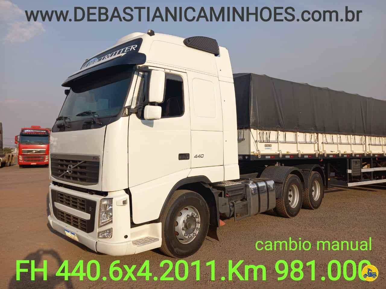 CAMINHAO VOLVO VOLVO FH 440 Cavalo Mecânico Traçado 6x4 Debastiani Caminhões ANAPOLIS GOIAS GO