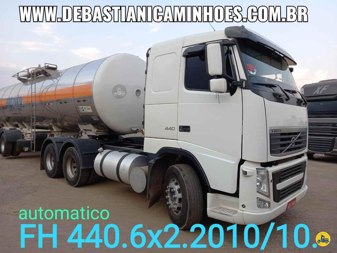 CAMINHAO VOLVO VOLVO FH 440 Cavalo Mecânico Truck 6x2 Debastiani Caminhões ANAPOLIS GOIAS GO