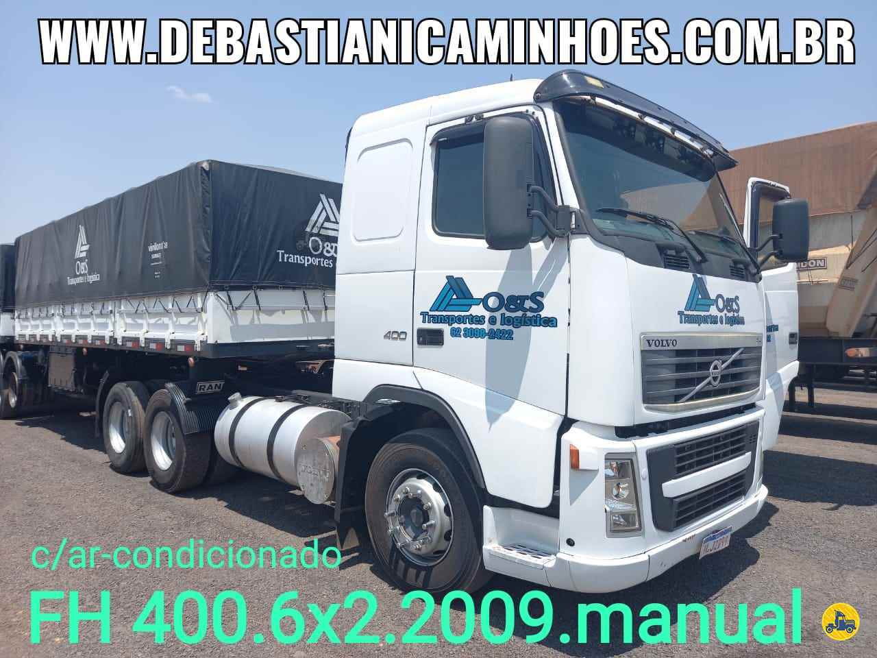 CAMINHAO VOLVO VOLVO FH 400 Cavalo Mecânico Truck 6x2 Debastiani Caminhões ANAPOLIS GOIAS GO