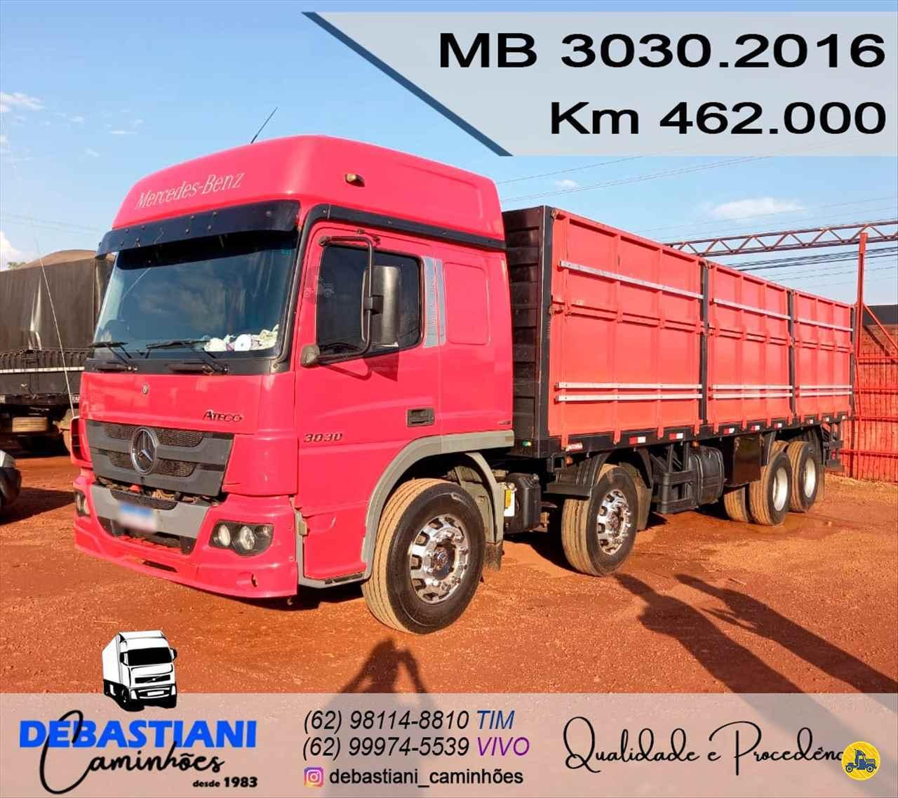 CAMINHAO MERCEDES-BENZ MB 3030 Graneleiro BiTruck 8x2 Debastiani Caminhões ANAPOLIS GOIAS GO