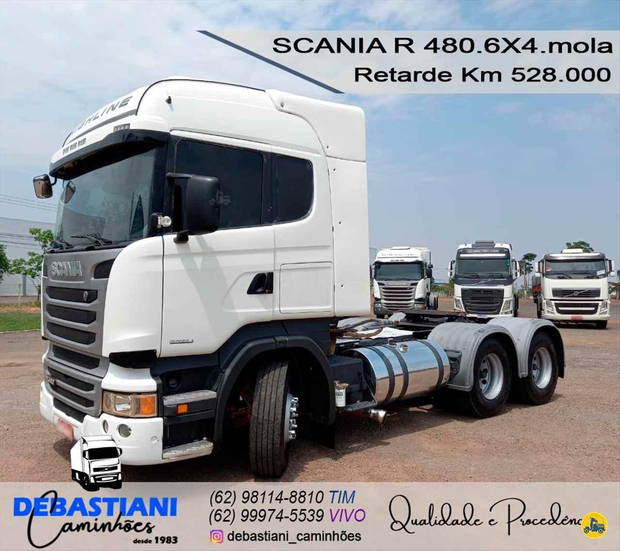 CAMINHAO SCANIA SCANIA 480 Cavalo Mecânico Traçado 6x4 Debastiani Caminhões ANAPOLIS GOIAS GO