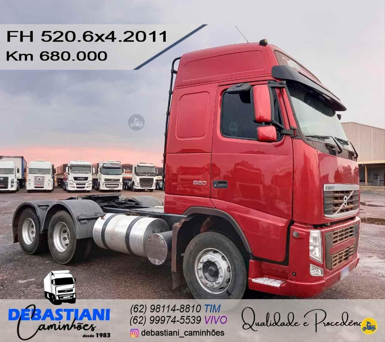 CAMINHAO VOLVO VOLVO FH 520 Cavalo Mecânico Traçado 6x4 Debastiani Caminhões ANAPOLIS GOIAS GO