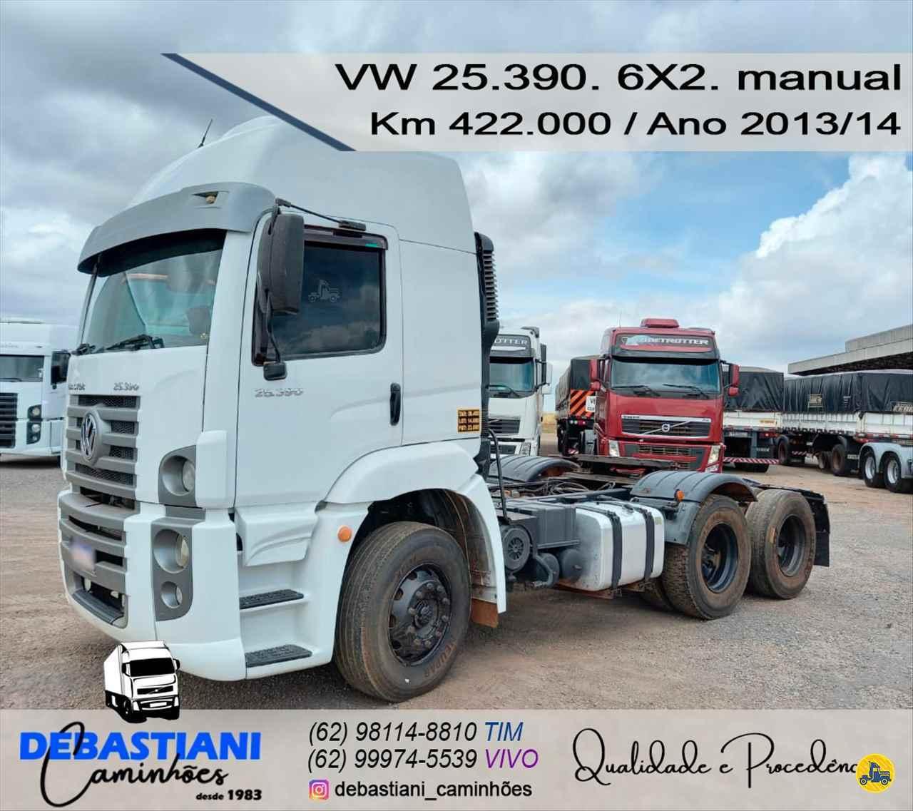 CAMINHAO VOLKSWAGEN VW 25390 Cavalo Mecânico Truck 6x2 Debastiani Caminhões ANAPOLIS GOIAS GO