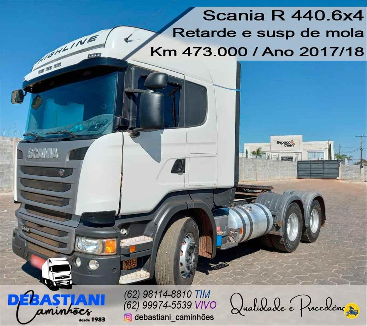 CAMINHAO SCANIA SCANIA 440 Cavalo Mecânico Traçado 6x4 Debastiani Caminhões ANAPOLIS GOIAS GO