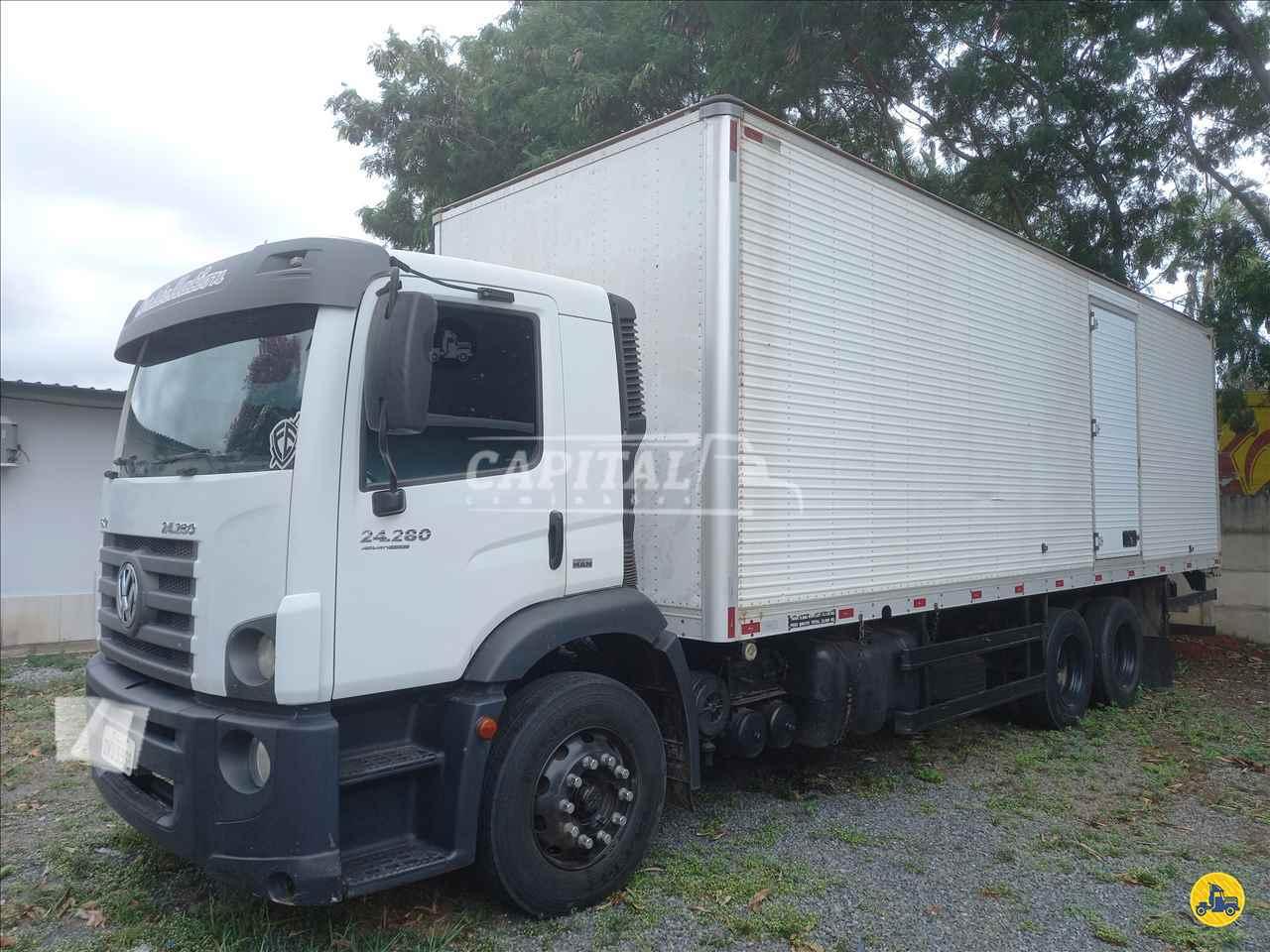 CAMINHAO VOLKSWAGEN VW 24280 Baú Furgão Truck 6x2 Capital Caminhões - Metalesp e Recrusul  BRASILIA DISTRITO FEDERAL DF