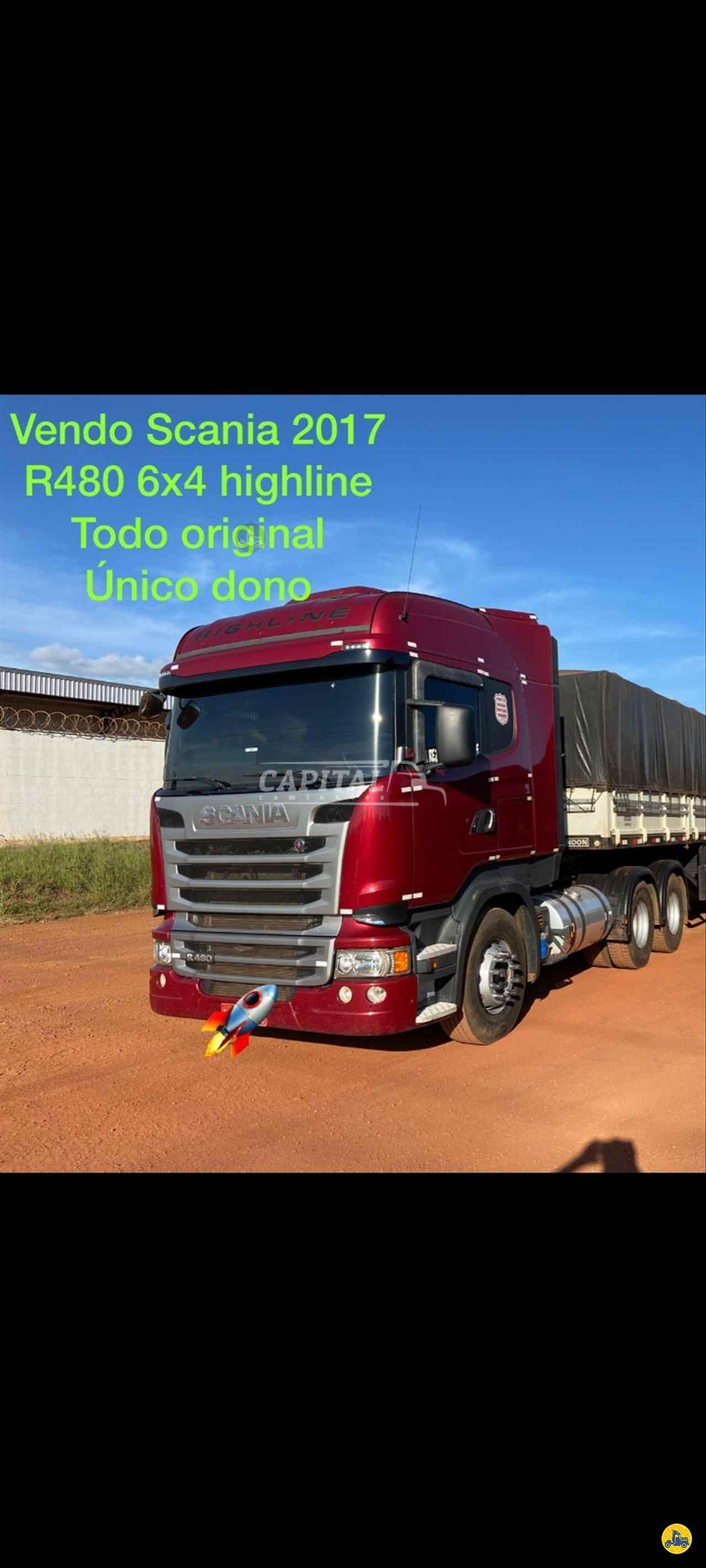 CAMINHAO SCANIA SCANIA 480 Cavalo Mecânico Traçado 6x4 Capital Caminhões - Metalesp e Recrusul  BRASILIA DISTRITO FEDERAL DF