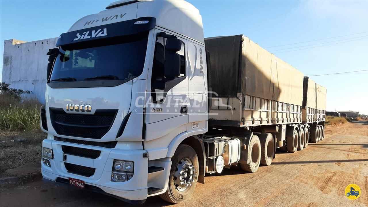 CAMINHAO IVECO STRALIS 480 Capital Caminhões - Metalesp e Recrusul  BRASILIA DISTRITO FEDERAL DF