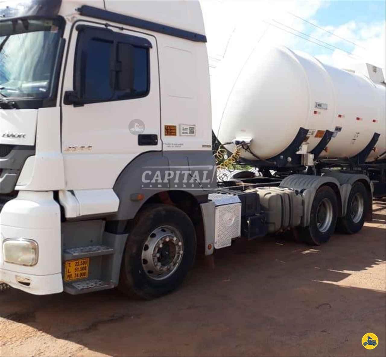 CAMINHAO MERCEDES-BENZ MB 2644 Cavalo Mecânico Traçado 6x4 Capital Caminhões - Metalesp e Recrusul  BRASILIA DISTRITO FEDERAL DF